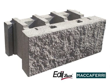 Concrete load-bearing block MACWALL®