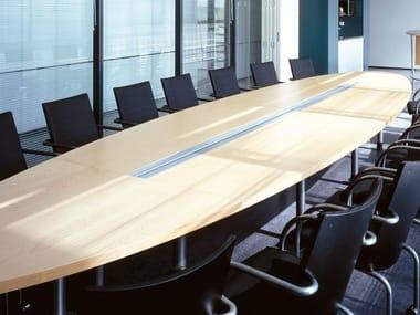 Modular meeting table IN-TENSIVE | Modular meeting table