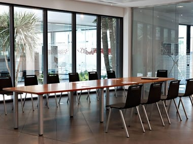 Tavolo da riunione rettangolare COOL C400 - C500