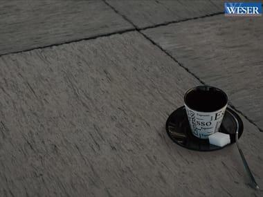 Stone outdoor floor tiles AURAY