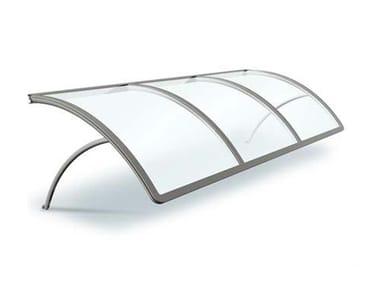 Aluminium porch LUX