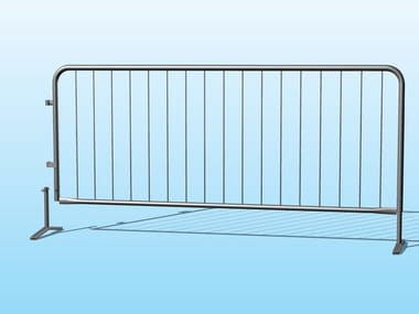 Galvanized steel Security barrier Pedestrian barrier