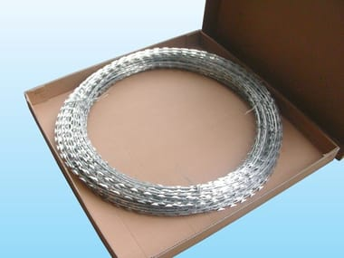 Barbed wire, drawn steel wire RAZOR WIRE - CONCERTINA