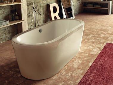 Vasca da bagno centro stanza ovale RENAISSANCE