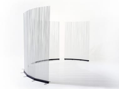 Glass-fibre garden partition STICKS INLINE