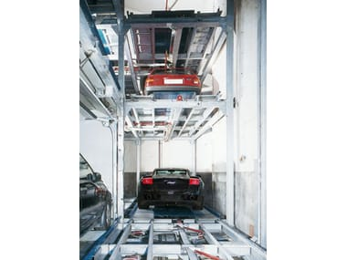 Automatic parking systems TECNOPARK