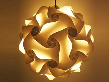 Polypropylene pendant lamp FIOCCO