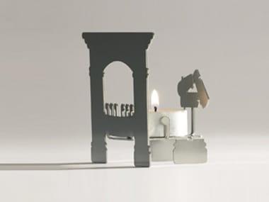 Stainless steel candle holder MIKROKAMIN