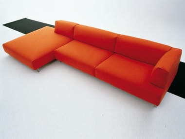 Sofa with removable cover METRO² | Sofa
