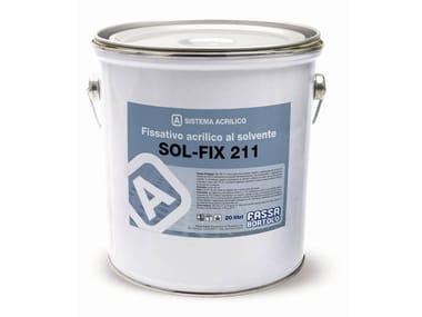 Fissativo acrilico al solvente per esterni SOL-FIX 211