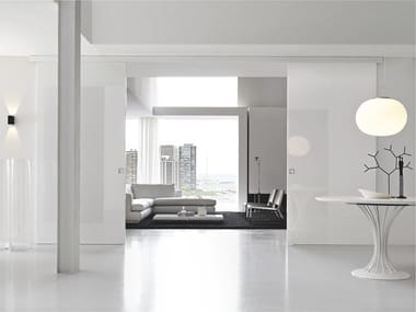 Lacquered sliding door B-MOVE BASIC