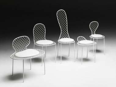 Sedia in rete metallica FAMILY CHAIRS