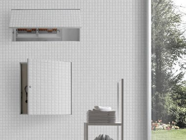 Flush-to-the-wall door system CUBBY