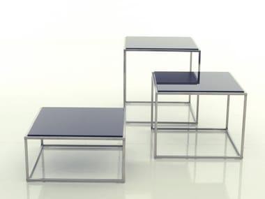 Mesa de centro de vidro ILE | Mesa de centro