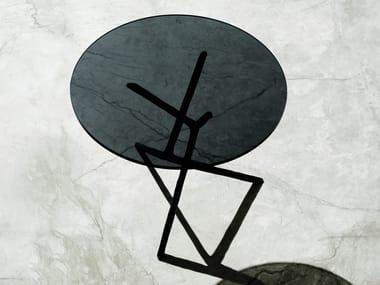Tavolino rotondo in ottone YING YING