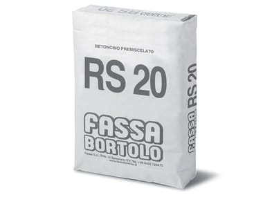 Betoncino premiscelato BETONCINO RS 20