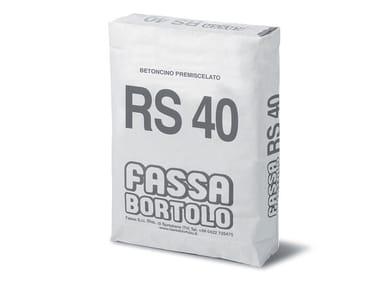 Betoncino premiscelato BETONCINO RS 40