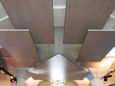 MDF acoustic ceiling clouds ISLE