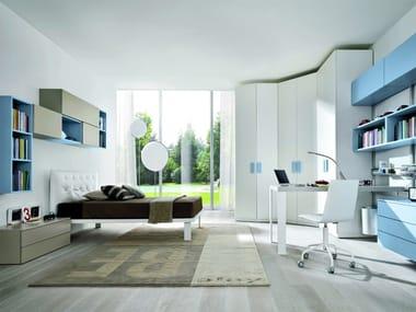 Fitted melamine bedroom set Z021 | Bedroom set