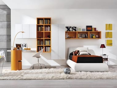 Contemporary style fitted bedroom set Z011 | Bedroom set