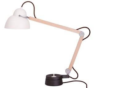 Lampada da tavolo in alluminio W084T2