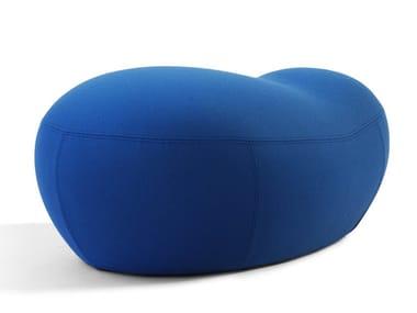 Fabric pouf / footstool PUPPA