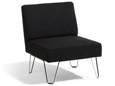 Upholstered armchair QVARTO | Armchair