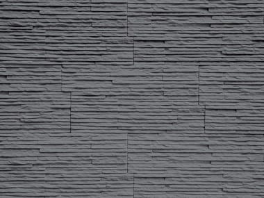 Indoor reconstructed stone 3D Wall Cladding MONTE BIANCO