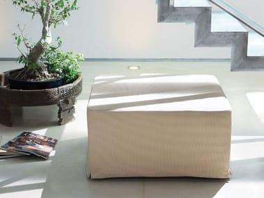 Pouf letto sfoderabile in tessuto DIZZY