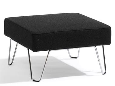 Fabric footstool QVARTO | Footstool
