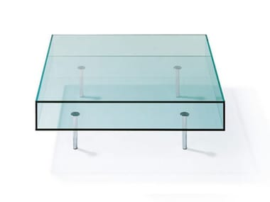 Low Glass Coffee Table K 126 | Coffee Table