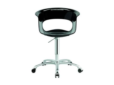 Swivel task chair with 5-Spoke base MISS B OFFICE ANTISHOCK