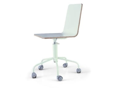 Chair with castors STRATO