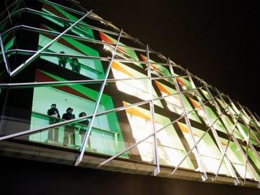 Continuous facade system FACCIATE CONTINUE ST TT