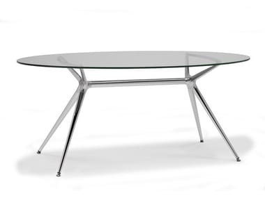 Oval dining table METROPOLIS | Oval table