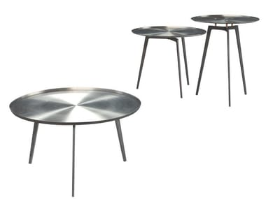 Round steel coffee table T - GONG