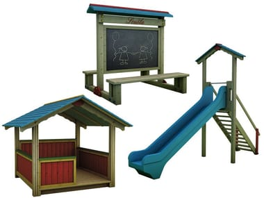 Play structure MONTANA LEGNO