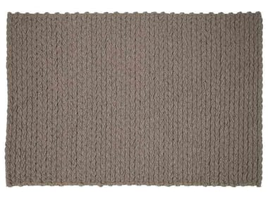 Rectangular wool rug TRENZAS | Rectangular rug