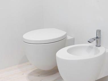 Wall-hung ceramic toilet LE GIARE | Wall-hung toilet