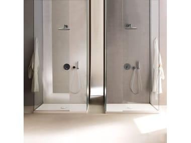 Anti-slip ceramic shower tray CINQUANTA H5