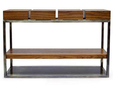 Rectangular console table with drawers CASSIS