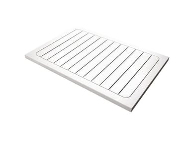 Slatted HI-MACS® shower tray PLANK