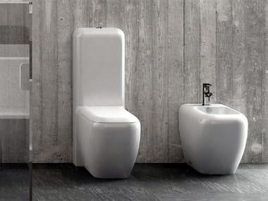 Close coupled ceramic toilet SHUI | Close coupled toilet
