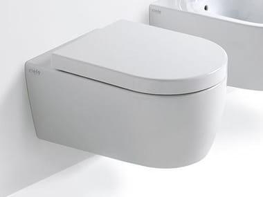 Wall-hung ceramic toilet SMILE | Wall-hung toilet
