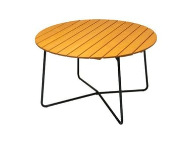 Folding wooden garden table 9A | Garden table