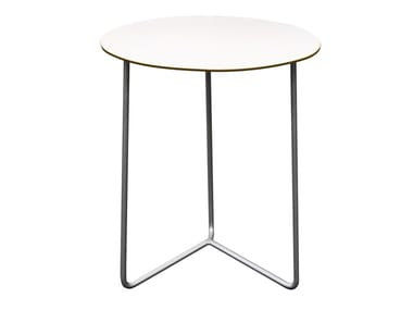 Round garden side table HIGH TECH | Garden side table
