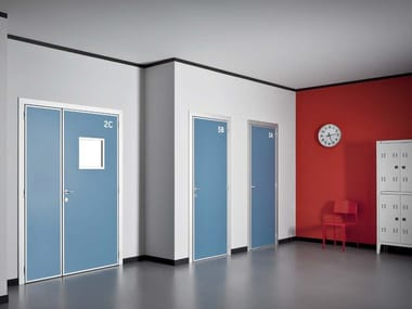 Hinged HPL door QUADRA