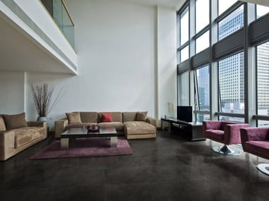 Technical porcelain wall/floor tiles with stone effect IRIDIO