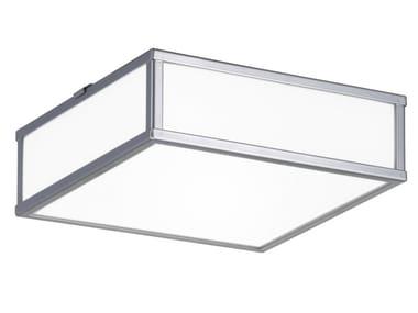 Lampada da soffitto in vetro STRICT | Lampada da soffitto
