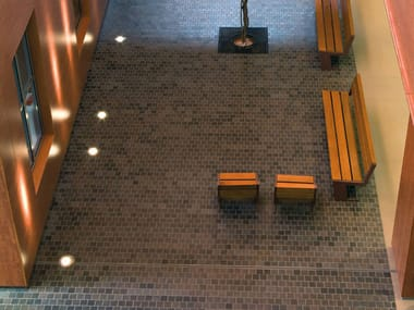 Porcelain stoneware wall/floor tiles with stone effect QUARTZONE